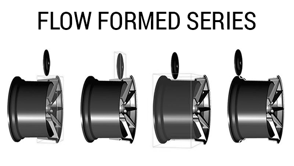 VMR RF Rotary forged Flow Form Process Info