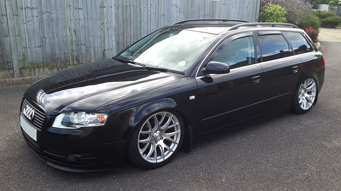 Air Lift Performance Kit Installed on Audi A4 B7(3)