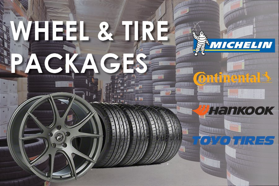 Wheel and Tire Packages