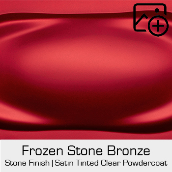 HRE Stone Finish Frozen Stone Red