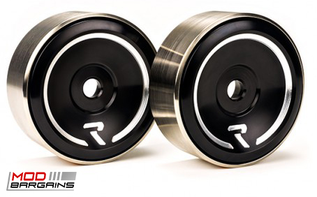 Raceseng Revo Idlers in Black for 2013+ Scion FRS/Subaru BRZ