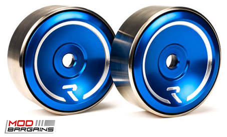 Raceseng Revo Idlers in Blue for 2013+ Scion FRS/Subaru BRZ