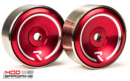 Raceseng Revo Idlers in Red for 2013+ Scion FRS/Subaru BRZ