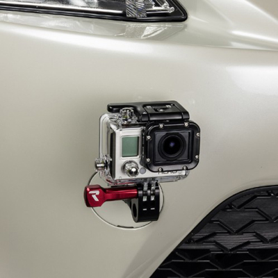 Raceseng Tugless View Go Pro Mount for Scion FRS and Subaru BRZ Installed Front
