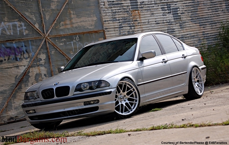 "VMR Wheels VB3 CSL Replica 19"" Silver on Silver E46"