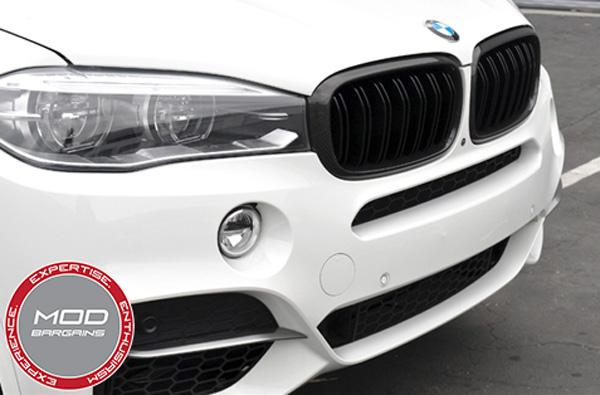 BMW Carbon FIber Grille for X5 [F15] X5M [F85] X6 [F16] X6M [F86]  (BM-0174-DS-CF)