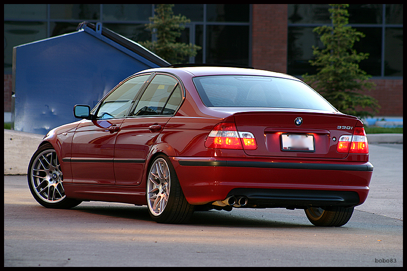 "VMR Wheels VB3 CSL Style 18"" Staggered Silver red 330i"