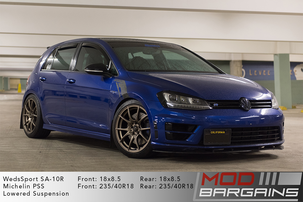 WedsSport SA-10R Racing Wheels VW MK7 Golf R Bronze Wheels Modbargains