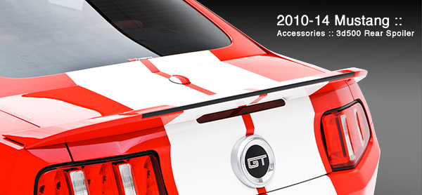 3D Carbon 3d500 Rear Spoiler Ford Mustang