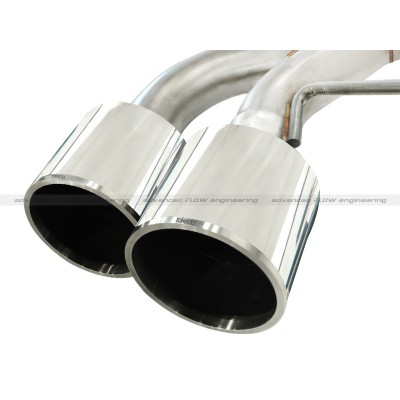 aFe Power Takeda Dual Catback Exhaust for Nissan R35 Skyline GT-R Stainless Tips