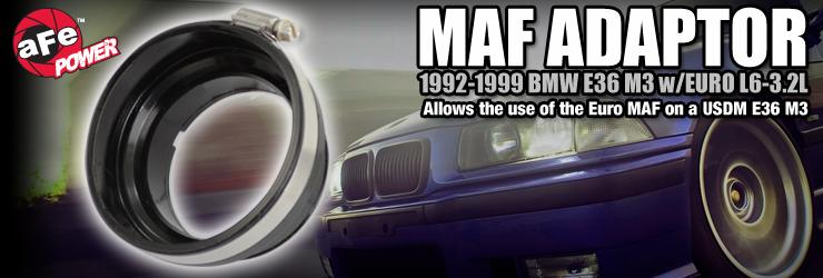 aFe E36 M3 MAF Adapter (Euro MAF)