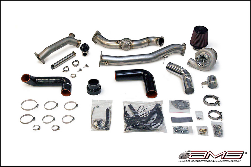AMS Performance 950R V Band Rotated Mount Turbo Kit for 2002-2007 Subaru WRX/STI