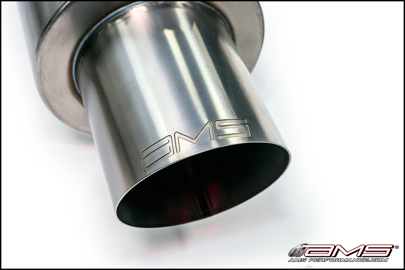 AMS Performance Titanium Race Series Cat-Back Exhaust Tip for EVO X