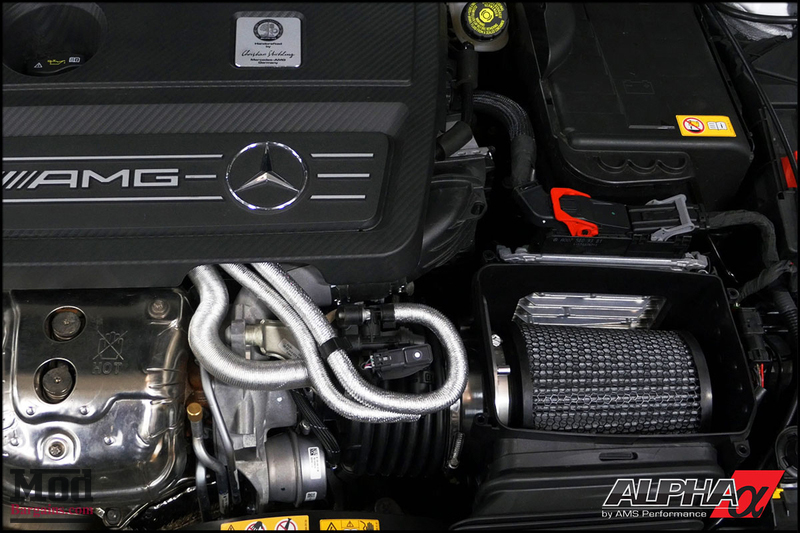 AMS Performance Carbon Fiber Intake for 2014+ GLA45 Mercedes AMG [X156]
