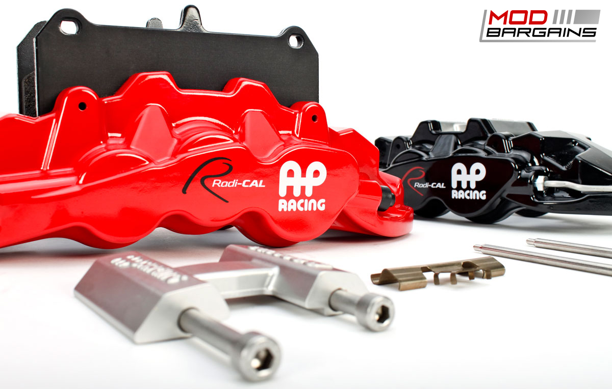 AP Racing Radi-CAL BBK Red and Black Calipers