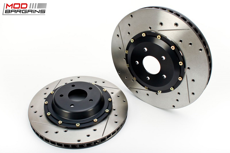AP Racing Radi-CAL Cross-Drilled and Slotted Rotors