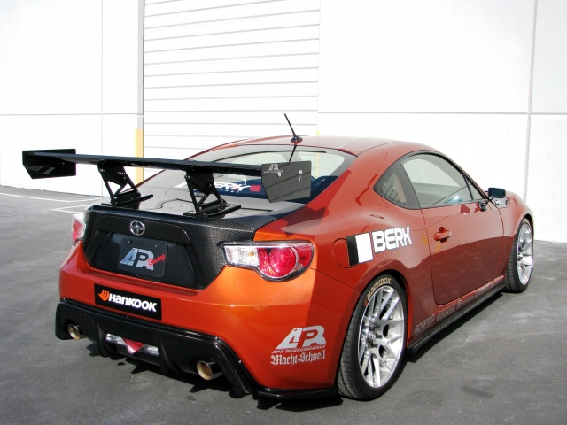 APR Performance Rear Diffuser Side View FRS AB-585020