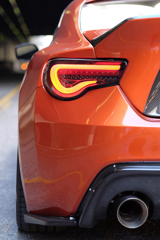 frs with APR Performance rear diffuser