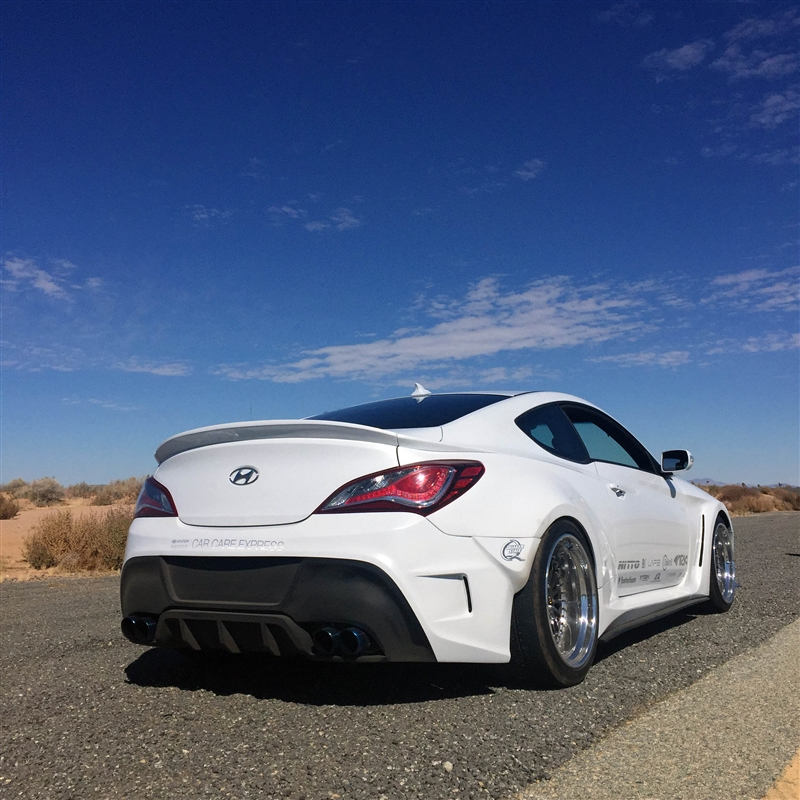 ARK Solus Full Wide Body Kit for 2013+ Hyundai Genesis Coupe