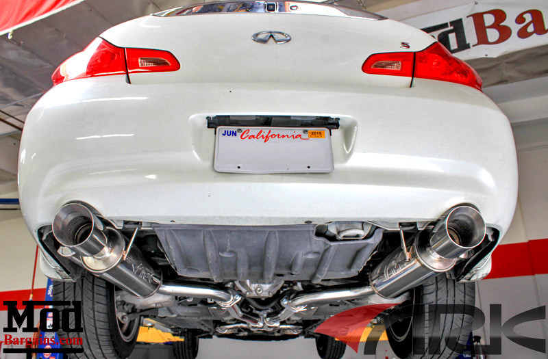 ARK Performance GRIP Exhaust 2007-13 Infiniti G35/G37 Coupe