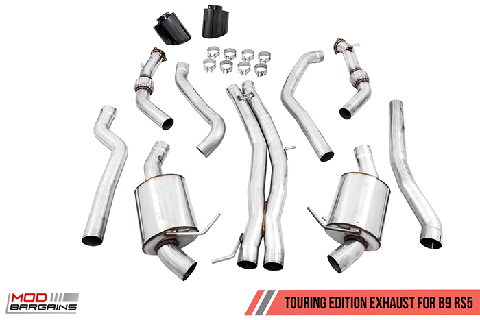 AWE EXHAUST SUITE FOR AUDI 8V RS 3 2.5T, SwitchPath™ Exhaust, AWE Performance Mid Pipes for Audi 8V RS 3, AWE SwitchPath™ Conversion Kit for Audi 8V RS 3, Modbargains.com