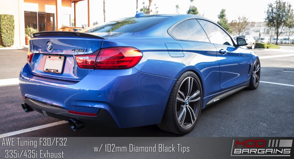 BMW 435i AWE Exhaust