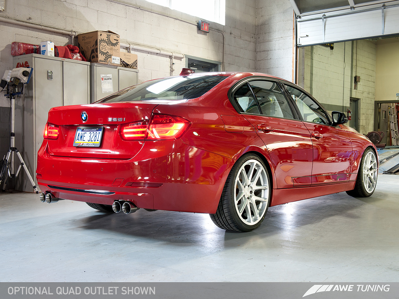 awe tuning cat axle back exhaust for 2010 16 bmw 335i 435i. Black Bedroom Furniture Sets. Home Design Ideas