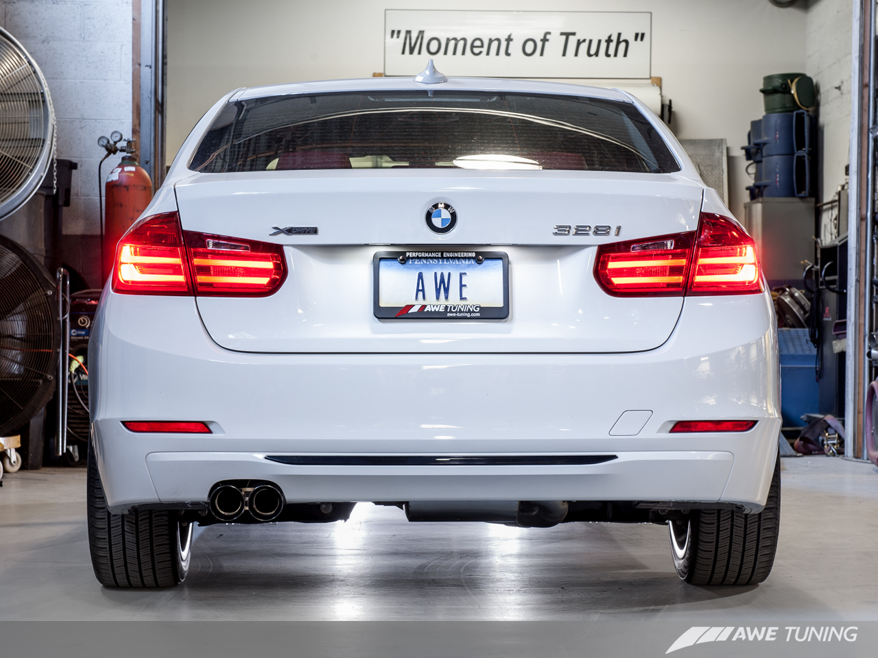 Awe Tuning Cat Axle Back Exhaust For 2010 16 Bmw 328i 428i