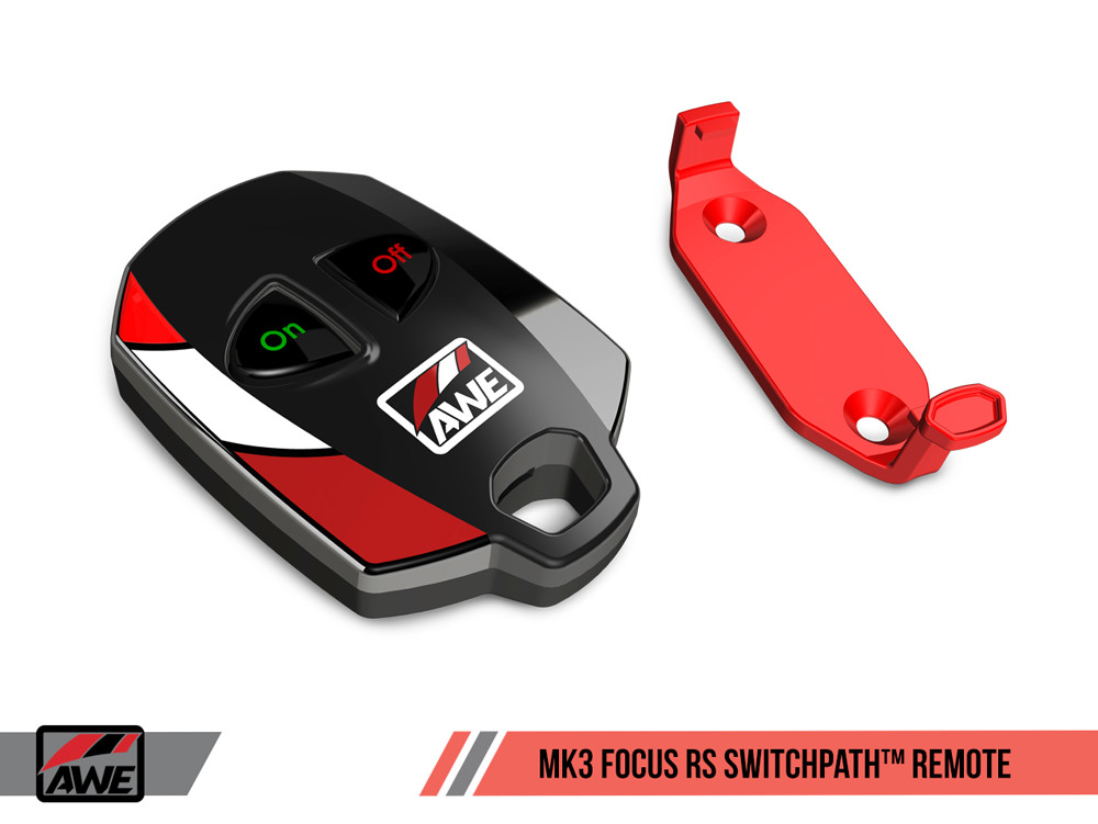 AWE SwitchPath Exhaust Remote 2016+ Ford Focus RS