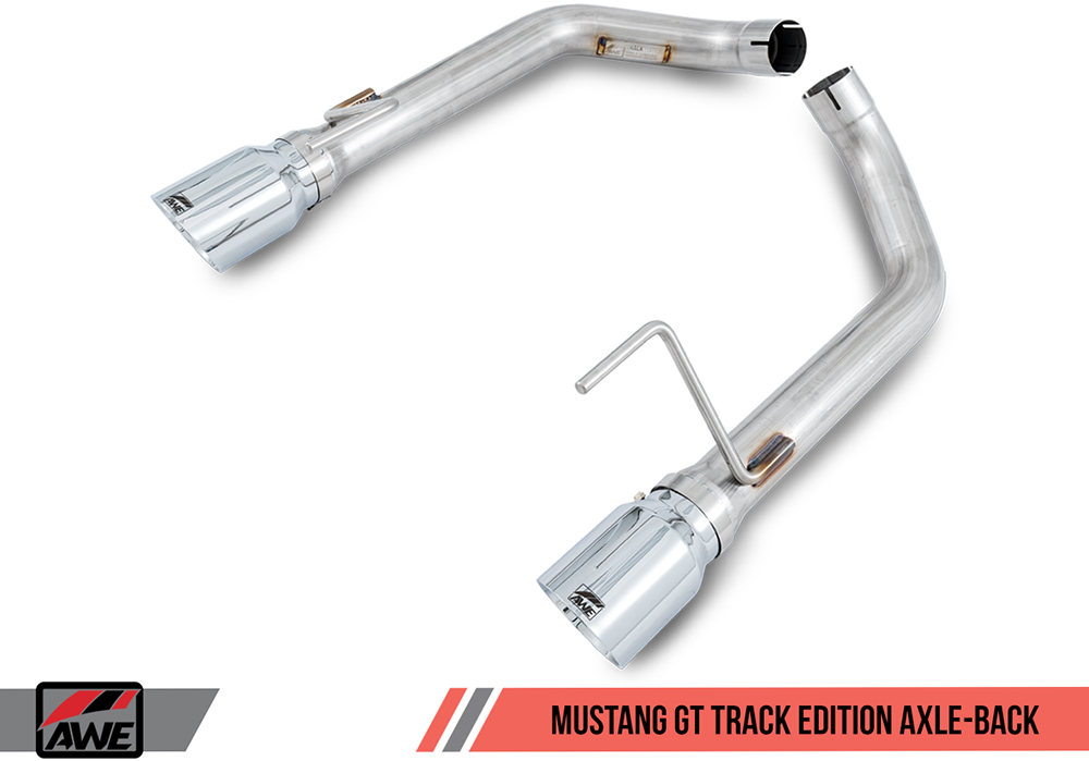 AWE Tuning Axle-Back Exhaust Track Edition