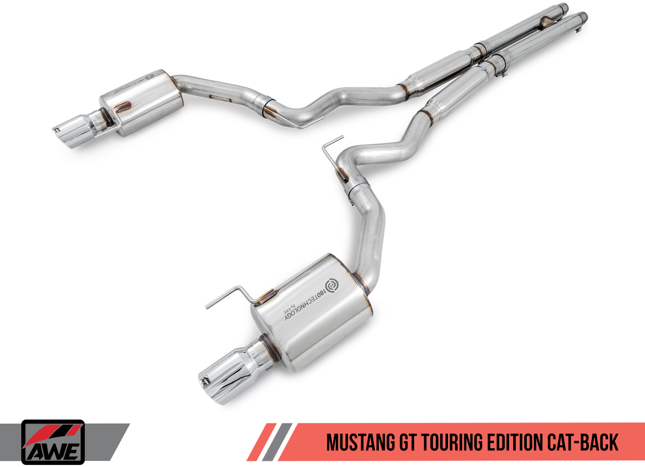 AWE Tuning Cat-Back Exhaust - Touring Edition