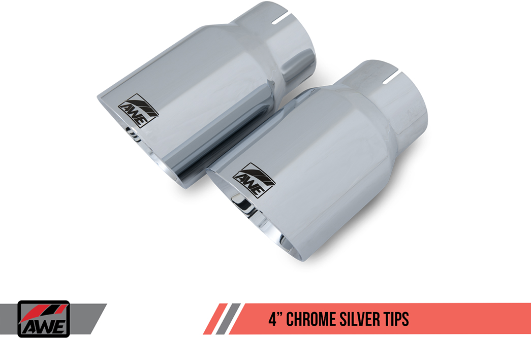 AWE Tuning Chrome Silver Exhaust Tips