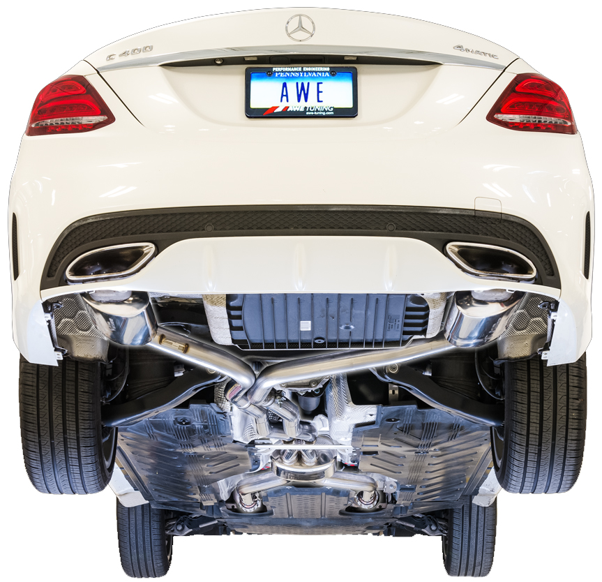 AWE Tuning Touring Edition Exhaust System for Mercedes Benz C43/C450AMG/C400  AMG