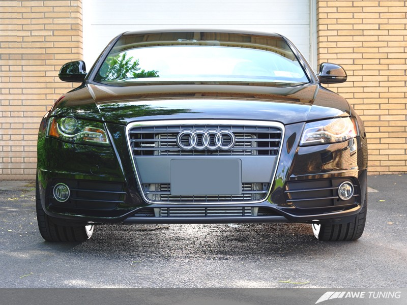 Audi B8.5 A4 with AWE Tuning 2.0T Front Mounter Intercooler