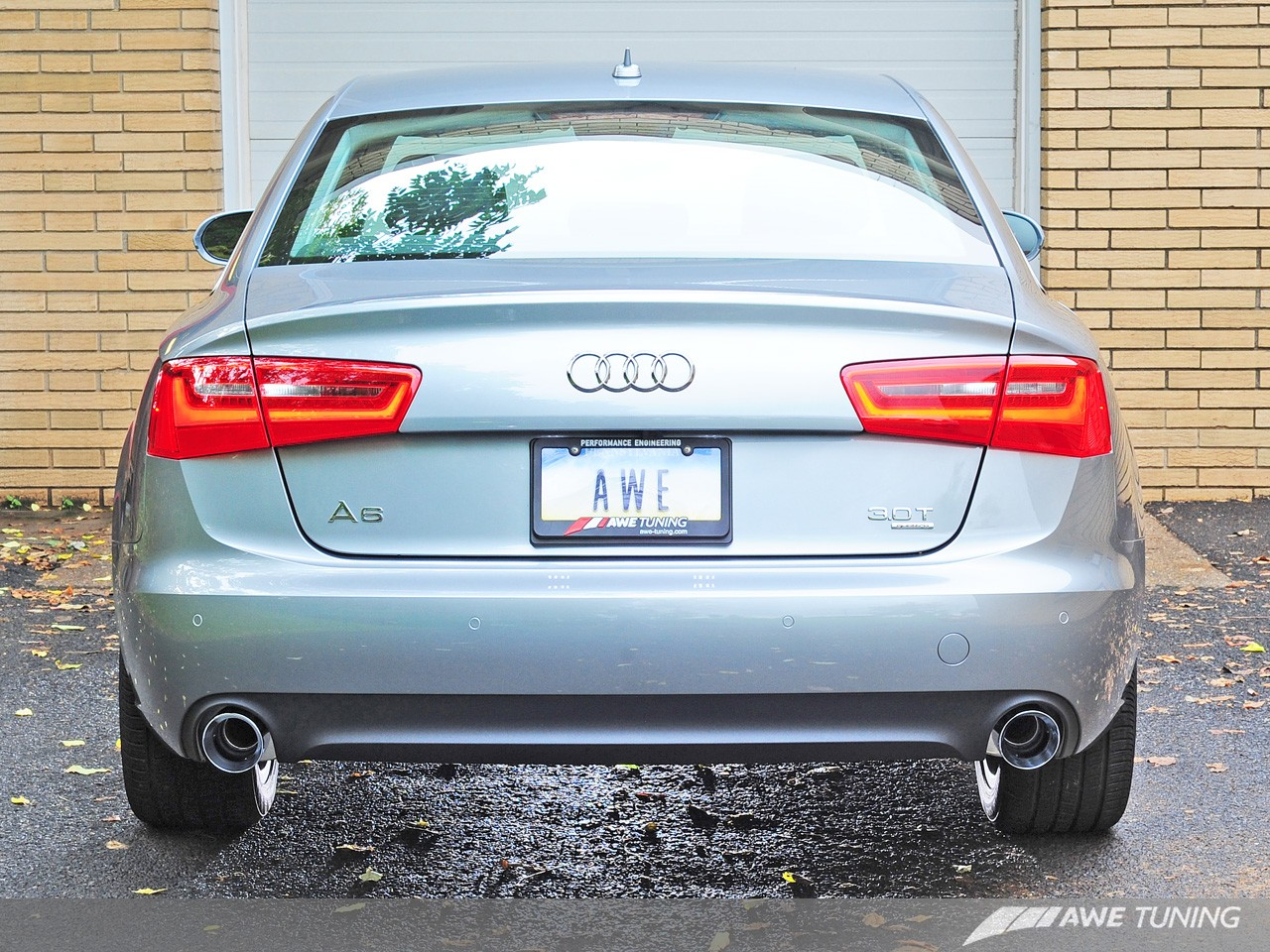 AWE Tuning Cat-Back Exhaust for 2012-14 Audi A6 [C7] Touring