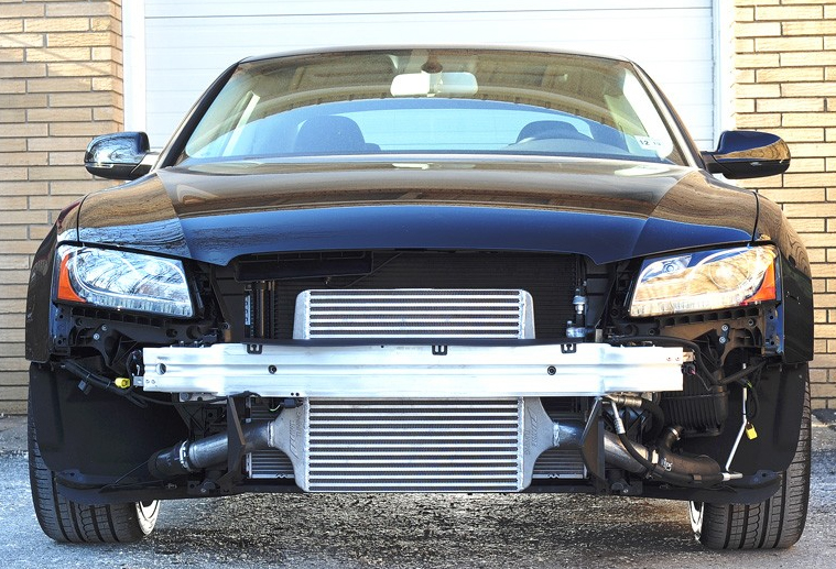 AWE Tuning Front Mount Intercooler Audi B8 A5