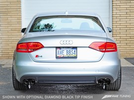 AWE Tuning Cat-Back Exhaust System Audi B8 S4