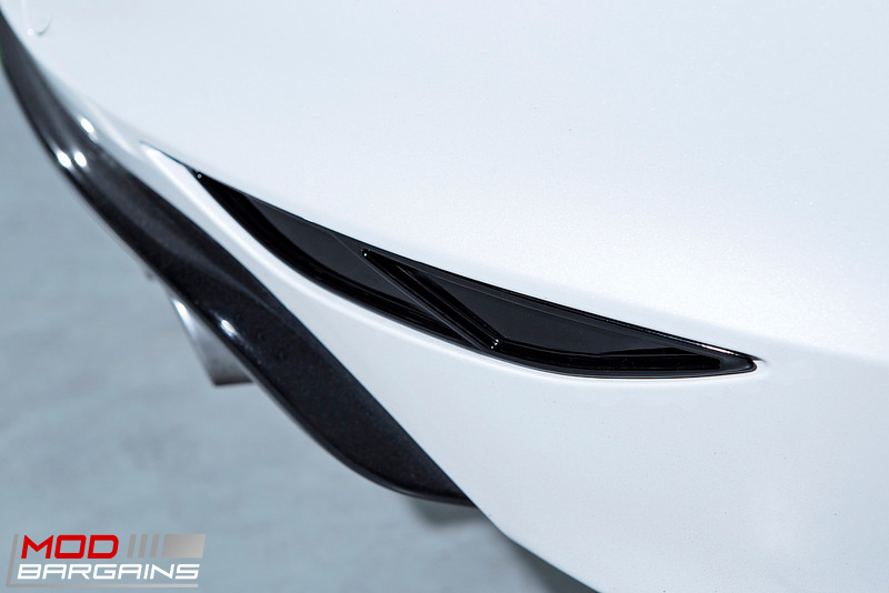 VW MK7 Golf R Rear Reflector Slatted Insert