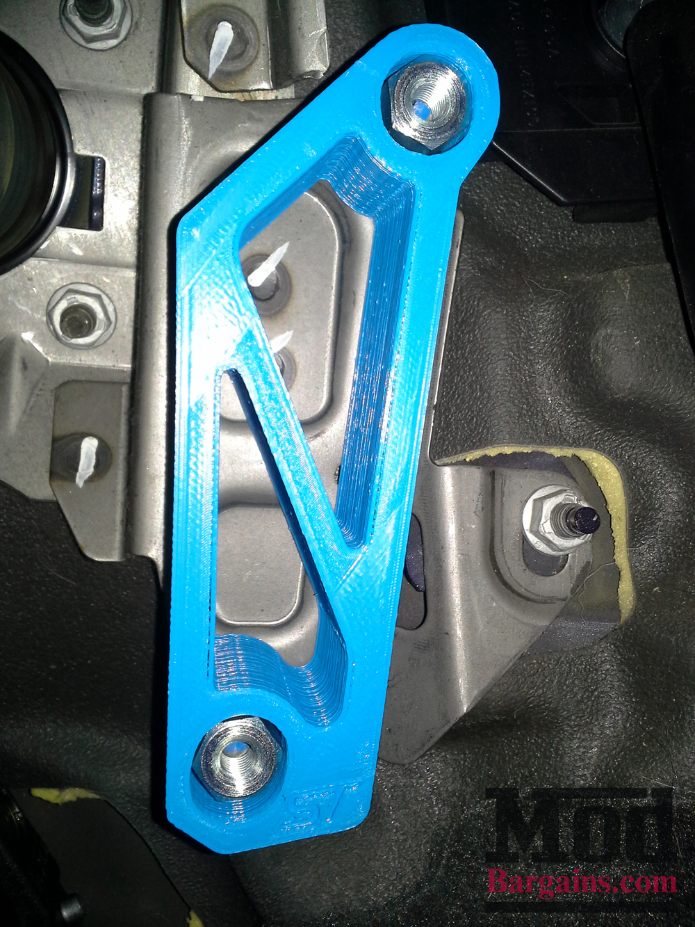 Ford Fiesta ST Accelerator Pedal Lift Spacer by Active Shift Designs at ModBargains.com