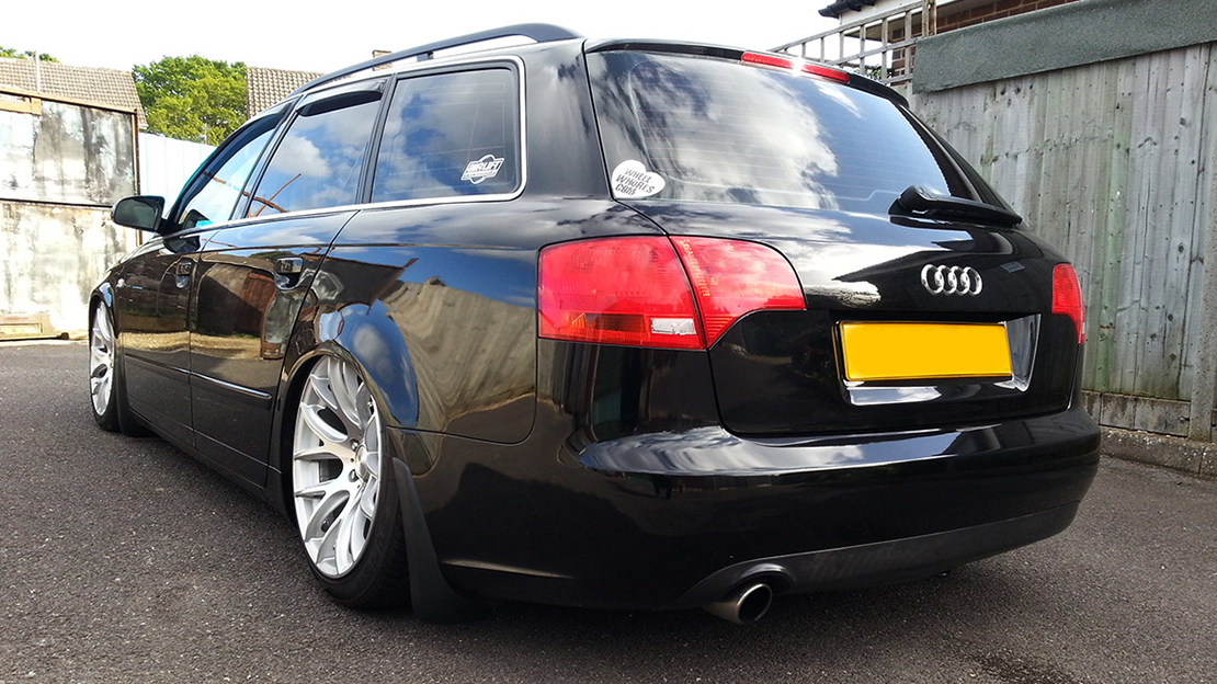 Air Lift Performance Kit Installed on Audi A4 B7 (2)