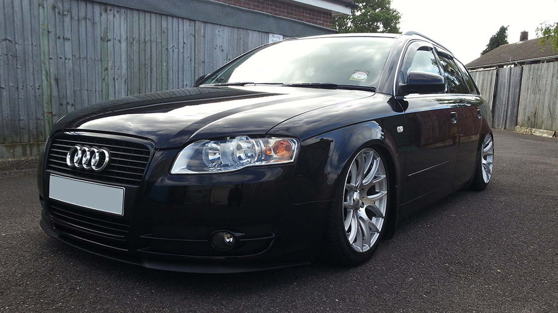 Air Lift Performance Kit Installed on Audi A4 B7