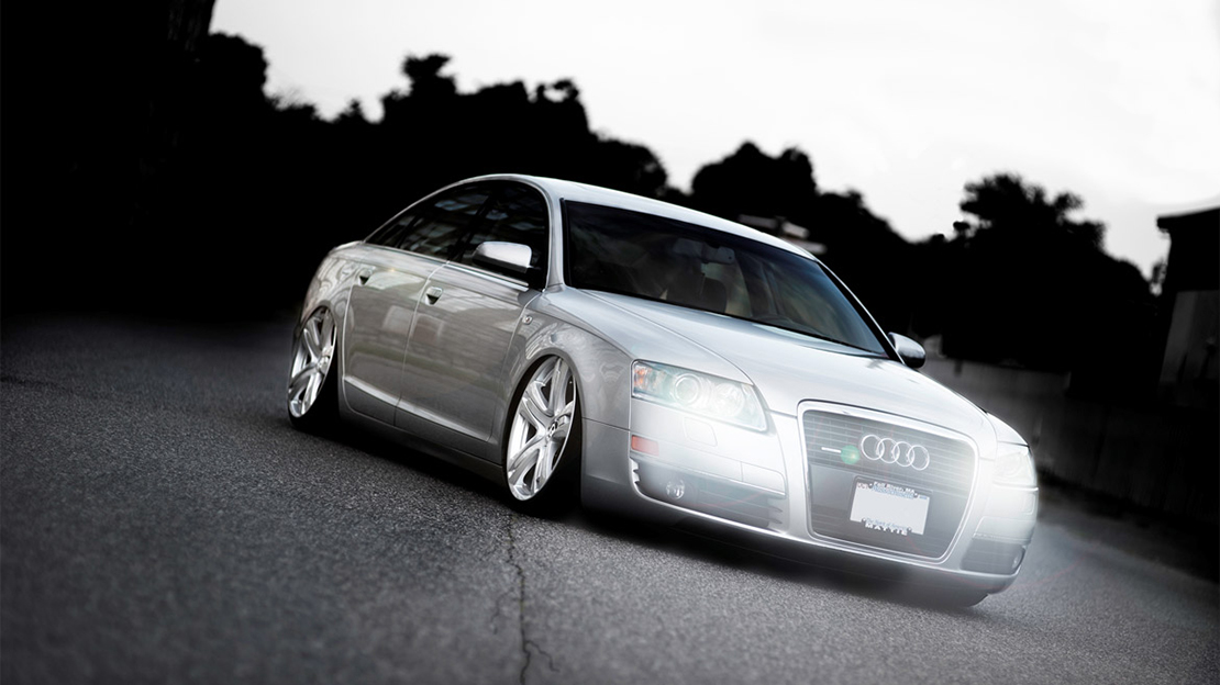 Air Lift Performance Kit Installed on Audi A4 B8 (2)