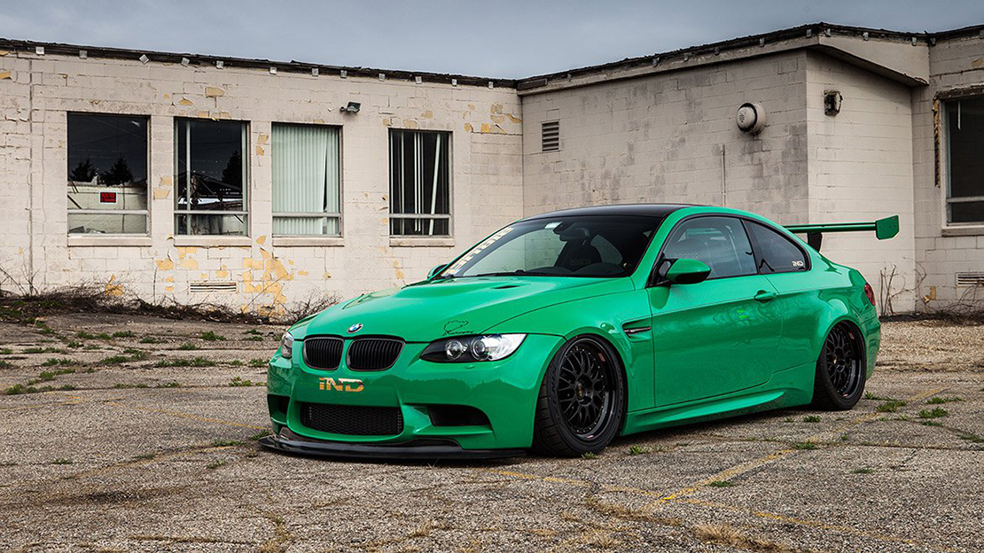 Air Lift Performance Kit Installed on BMW M3 E92