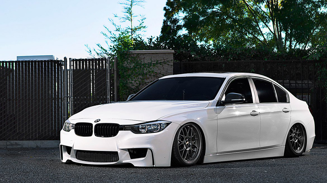 Air Lift Performance Kit Installed on BMW F30