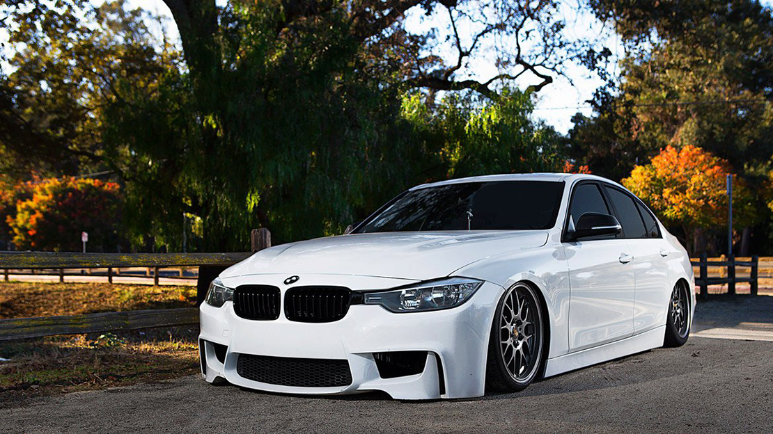 Air Lift Performance Kit Installed on BMW 3-Series F30