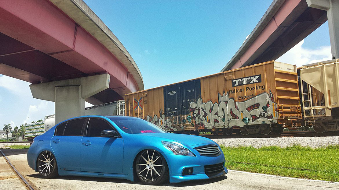 Air Lift Performance Kit Installed on Infiniti G37 (5)