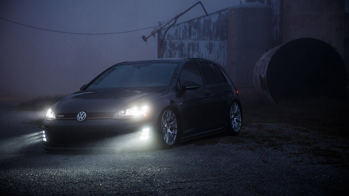 Air Lift Performance Kit Installed on VW Golf MK7 (2)