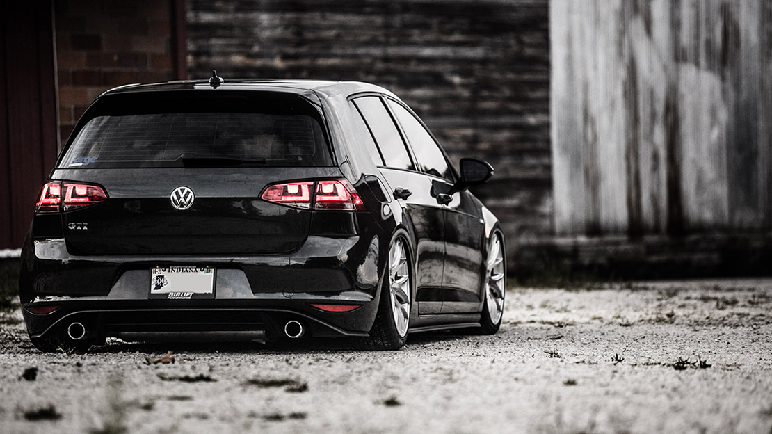 Air Lift Performance Kit Installed on VW Golf MK7 (4)