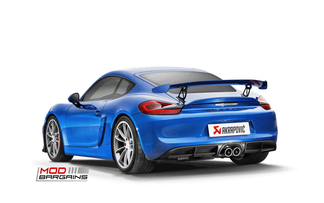 Akrapovic Exhaust System for Porsche Cayman GT4 (981)