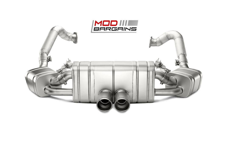 Akrapovic Titanium Slip-On Exhaust System for Porsche Cayman GT4 981